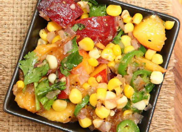 Sweet Corn & Avocado Salsa