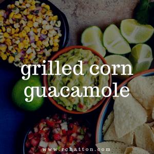 Grilled Corn Guacamole