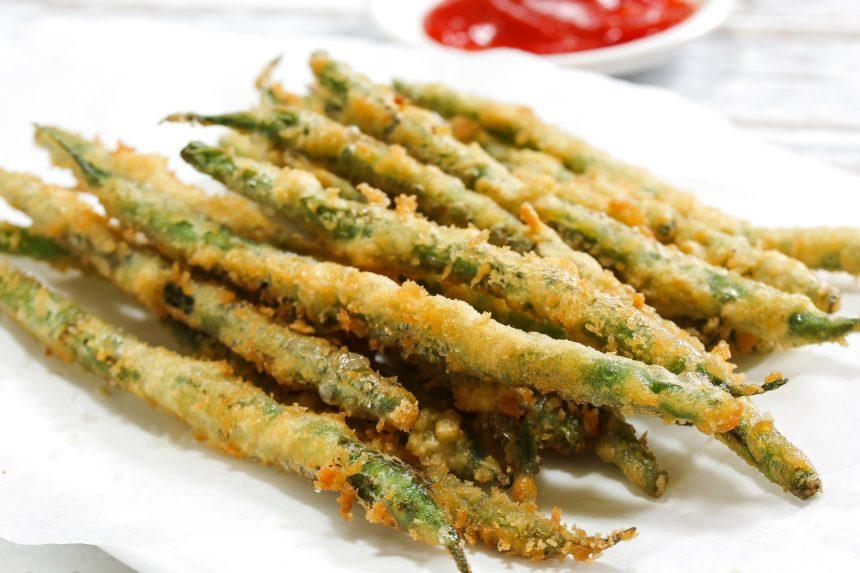 Crunchy Fried Green Beans