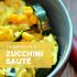 Fresh Corn and Zucchini Sauté