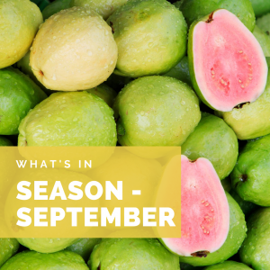 What's in Season – September