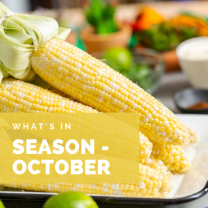 What's in Season – October