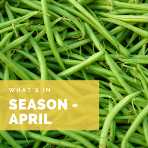 What's in Season – April