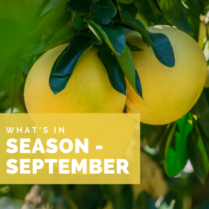 What's in Season – Sept.